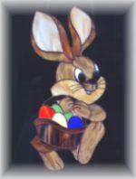 Tiffany - Hase mit Korb