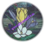 Glaskunst Tiffany - Krokus